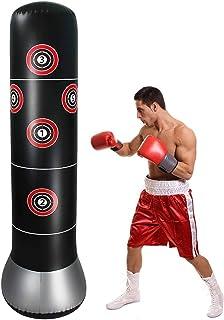 1.6 m Boxsack Sandsack Erwachsene Kinder Boxtraining Aufblasbar Standboxsack PVC