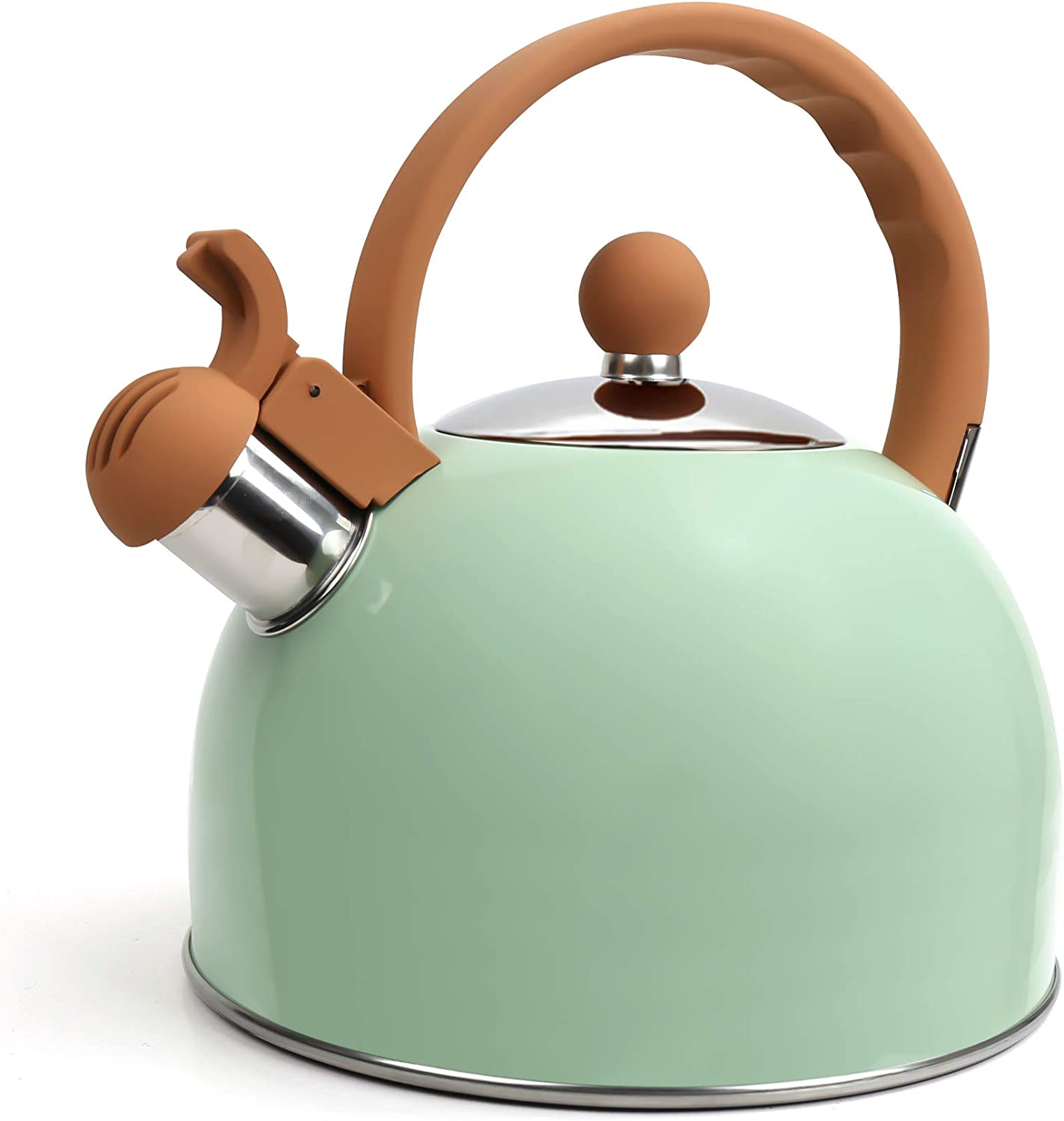 Flantor Tea Kettles Stainless All stores are sold Steel OFFicial site Quart 2.5 Teapot Whistling