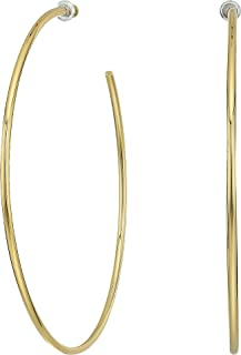 Vince Camuto Womens Thin Hoop Earrings