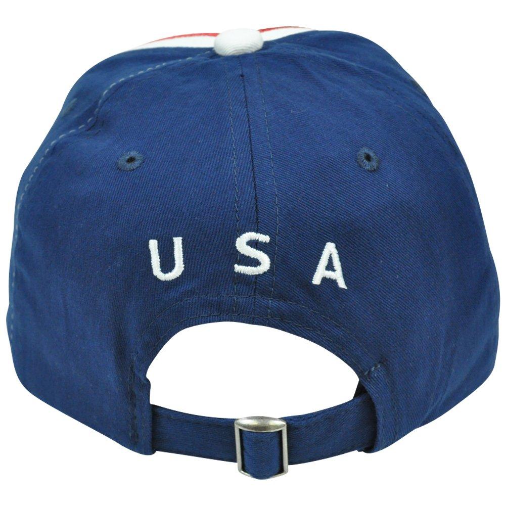 Gol By Rhinox Rhinox CIQ08 USA Bandera de Estados Unidos América fútbol fútbol sombrero gorra ajustable: Amazon.es: Deportes y aire libre