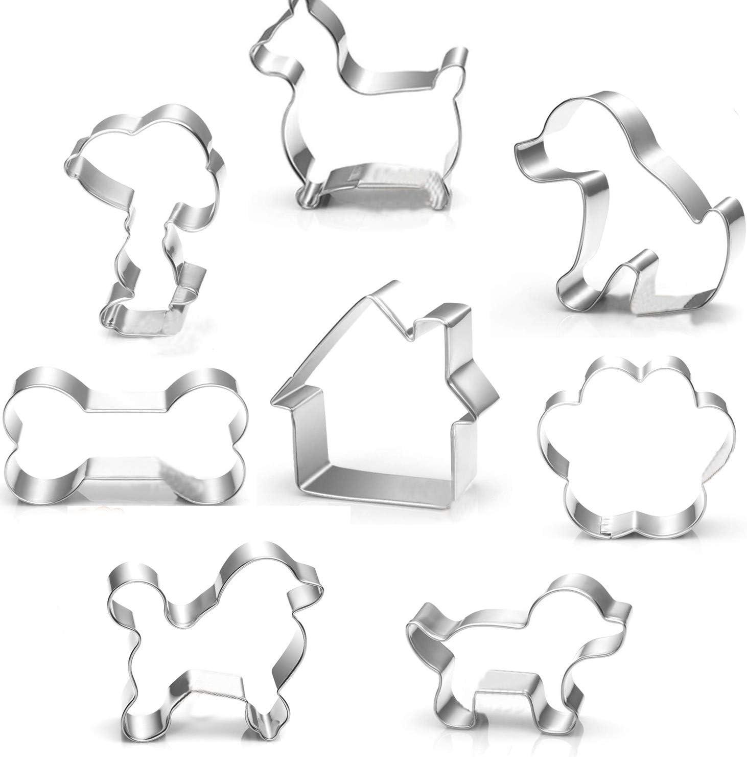 Striped Bone Kitchen Decor for Dog Lover Dog Mom Bone Shaped Fridge Magnet