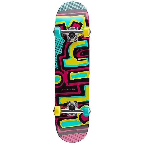 35612dc2b9a25 Blind Matte OG Logo Youth FP Skateboard Complete - Yellow Green - 7.00