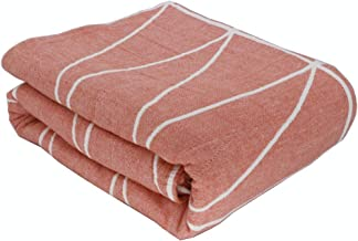 Free weekend 100% Cotton Air Conditioning Cool Throw Blanket Gauze Towel Double Summer Quilt All Seasons Thin Quilt Summe...