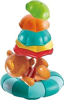 Hape Kids Little Splashers Teddy's Umbrella Stackers Bath Toy