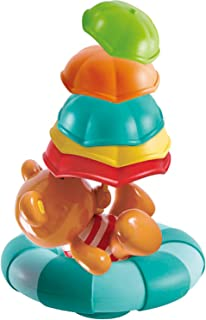 NEW 2017 Hape Kids Little Splashers Teddy's Umbrella Stackers Bath Toy
