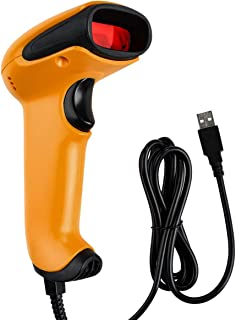 DinoFire バーコードリーダー 2次元 1次元 QRコード 対応 有線 バーコードスキャナー USB 価格 コム 高速連続読取 図書館・店舗・オフィス・物流・倉庫などに適用