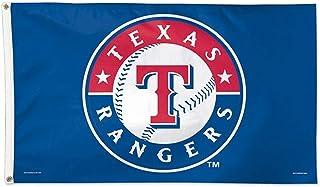 FANMATS 21936 Team Color Crumb Rubber Texas Rangers Door Mat