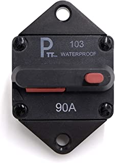 Manual Reset T3 10A GLOSO E538 Stud Type Circuit Breakers - 1 Pack Lengthwise Bracket