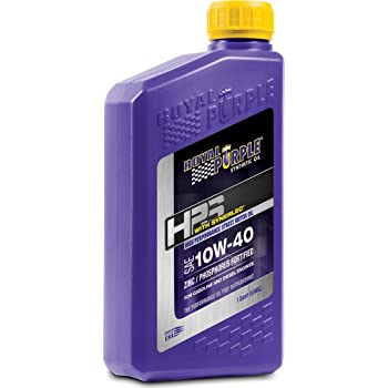 Royal Purple ROY31140 10W40 High Performance Street Motor Oil, 1 Quart