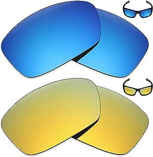 e1482b06a1 MRY 2 pares polarizadas Lentes de repuesto para Oakley Hijinx - Gafas de sol,  Color