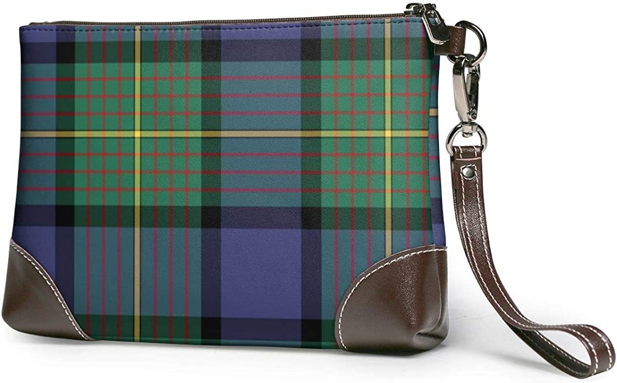 Muir And Moore Clan Scottish Print Tartan Challenge the lowest price of Japan ☆ Walle Fashion Wristlet Selling and selling