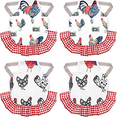 Amazon - 40% Off on Saddle for Chicken Hen Saddle Chicken Apron for Hen Chicken Saddle Chicken Jacket Straps Feather
