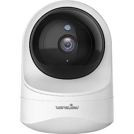 Wansview ネットワークカメラ1080P 200万画素 WiFi IPカメラ ワイヤレス屋内カメラ 防犯/監視カメラ ペットカメラ ベビーモニター ベビー老人ペット見守り 動体検知 双方向音声 暗視撮影 警報通知