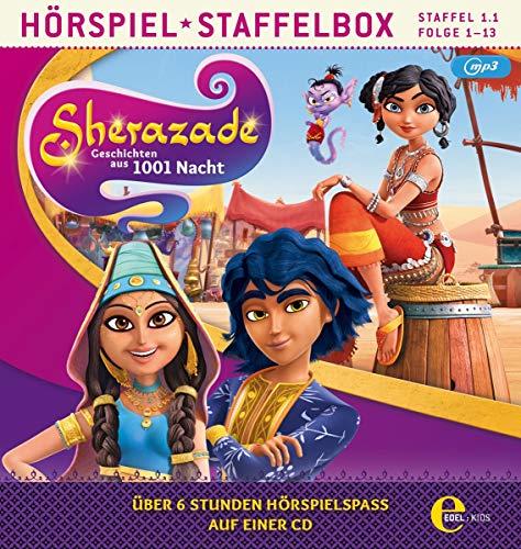 Sherazade - mp3-Staffelbox 1.1 (Folgen 1 - 13) - Das Original-Hörspiel zur TV-Serie