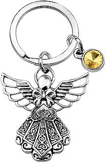 Best personalised guardian angel keyring Reviews