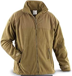 Genuine USMC Coyote Tan ECWCS Fleece Liner Jacket - Size Small