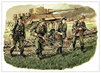 ドラゴン 1/35 第二次世界大戦 ドイツ軍 装甲擲弾兵 グロースドイッツェラント師団 カラチェフ 1943 プラモデル DR6124