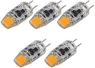 XXT G4led Lamp Kraal Saffier Lamp Kraal Chip AC/DC12V 3W Crystal Lamp(5 Pack)