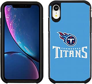 Prime Brands Group Cell Phone Case for Apple iPhone XR - NFL Licensed Tennessee Titans - Light Blue Textured Back Cover on...