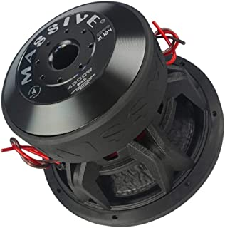 $348 » Car Subwoofer by Massive Audio HippoXL124 - SPL Extreme Bass Woofer - 12 Inch Car Audio 4,000 Watt HippoXL Series Competit...