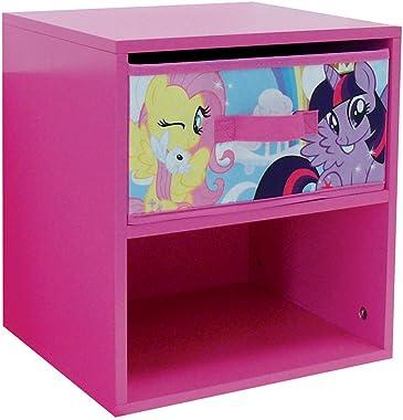 Fun House My Little Pony Chevet avec tiroir pour Enfants, MDF, 33x30x36 cm