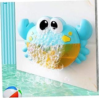 AMOYER Bebé Baño De Burbujas Burbuja De Juguete Cangrejo del Ventilador Plástico De Dibujos Animados Burbuja Fabricante De Cuna Bañera De Burbujas Juguetes
