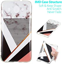for Huawei Y3 2018 Case, Soft Slim Protective Case Shockproof Anti-Scratch Flexible TPU Cover Protective Phone Case Back Cover for Huawei Y3 2018 (Stripe)