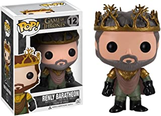 Vinyl Figure /& 1 POP Compatible PET Plastic Graphical Protector Bundle Daenerys Targaryen in Blue Outfit w// Staff: Game of Thrones x Funko POP #025 // 04048 - B