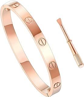 Women's Fashion Love Bracelet - Titanium Steel Screws Designs Bracelets