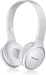 PANASONIC Bluetooth Wireless Headphones with Microphone and Call/Volume Controller - RP-HF400B-W - On-Ear Headphones (White)