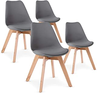 Amazon Fr Chaise Scandinave Grise