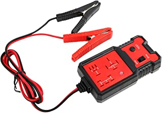 12V elektronischer Kfz Relaistester, WASAGA Tools zur Überprüfung der Autobatterie Diagnose mit Clips Relay Tester Automotive Kit für die automatische Reparatur