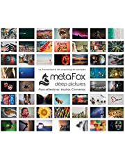 metaFox Deep Pictures (Español) - ORIGINAL Postales especiales de 52 imágenes intensivas y preguntas poderosas. Para rendimiento o terapia. Trabajar con emociones para la tutoría y supervisión.