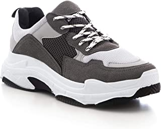 Smoked Saks Male Sneaker (43, Grey 1)