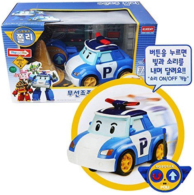 (POIL)ACADEMY Robocar Poil Radio Controlled POIL Toy Car Korea TV Animation