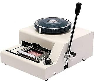 Huanyu WSDM-68C PVC Card Embosser Manual Name Card Code Printer Embossing Letterpress Rotogravure Printing Machine