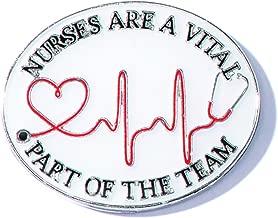 Nurses are A Vital Part of The Team Lapel Pins, 12 Pins