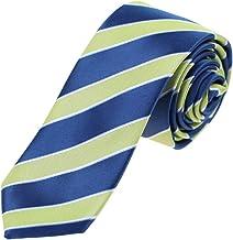 Epoint Men`s Fashion Gift Giving Silk Men Stripe Slim Tie Perfect Skinny Tie