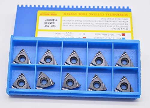 wholesale 10PCS 16IR 14UN SMX35 Milling Carbide Cutting Internal Threaded Inserts For CNC online Lathe Turing Tool Holder Boring new arrival Bar online sale