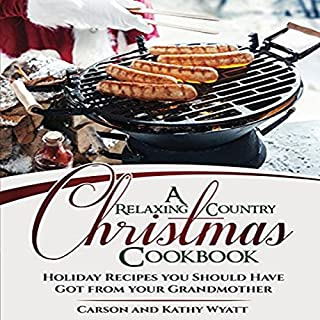 A Relaxing Country Christmas Cookbook cover art