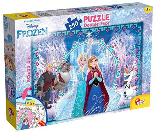 Lisciani Giochi-Disney: Frozen Puzzle, 250 Pezzi, Multicolore, 52981