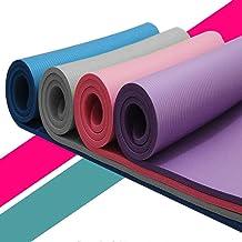 Kleine 15 mm dikke en duurzame yoga mat training elastische antislip fitness gymnastiek matten tas drager dikke knie oefen...