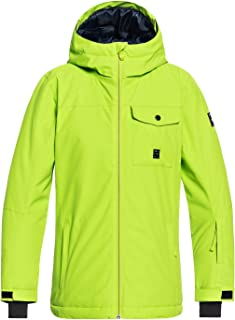 QUIKSILVER Boys' Big Mission Solid Youth 10k Snow Jacket
