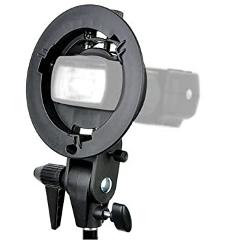 Godox S-type Bracket Bowens Mount Holder for Speedlite Flash Snoot Softbox Beauty Dish Reflector Umbrella