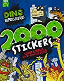 Dino Supersaurus 2000 Stickers