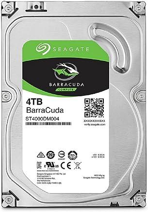 SEAGATE 内置硬盘3.5英寸 4TB 适用于PC用户 BarraCuda ( SATA 6Gb/s / 5400rpm / 2年保证 ) ST4000DM004