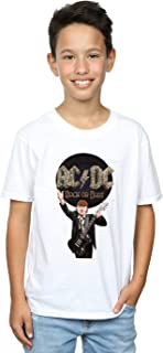 AC/DC Jungen Rock Or Bust Angus Young T-Shirt