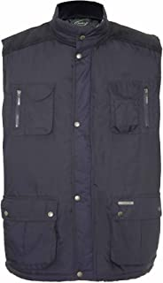 Champion Mens Exmoor Country Clothing Padded BodyWarmer Gilet Navy XL