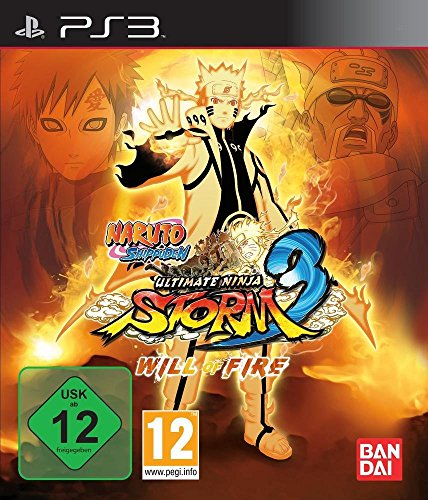 Naruto Shippuden Ultimate Ninja Storm 3 WILL OF FIRE Collectors Edition