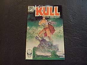 Kull The Conqueror #13 Dec 1986 Marvel Comics Bronze Age